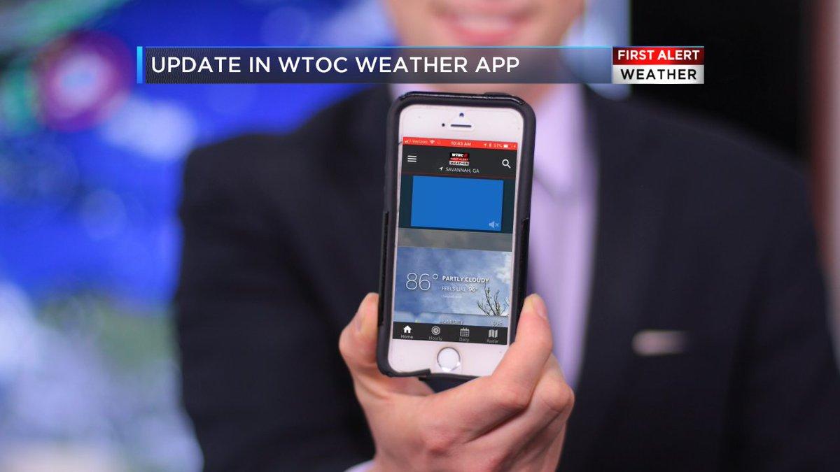 Wtoc weather app