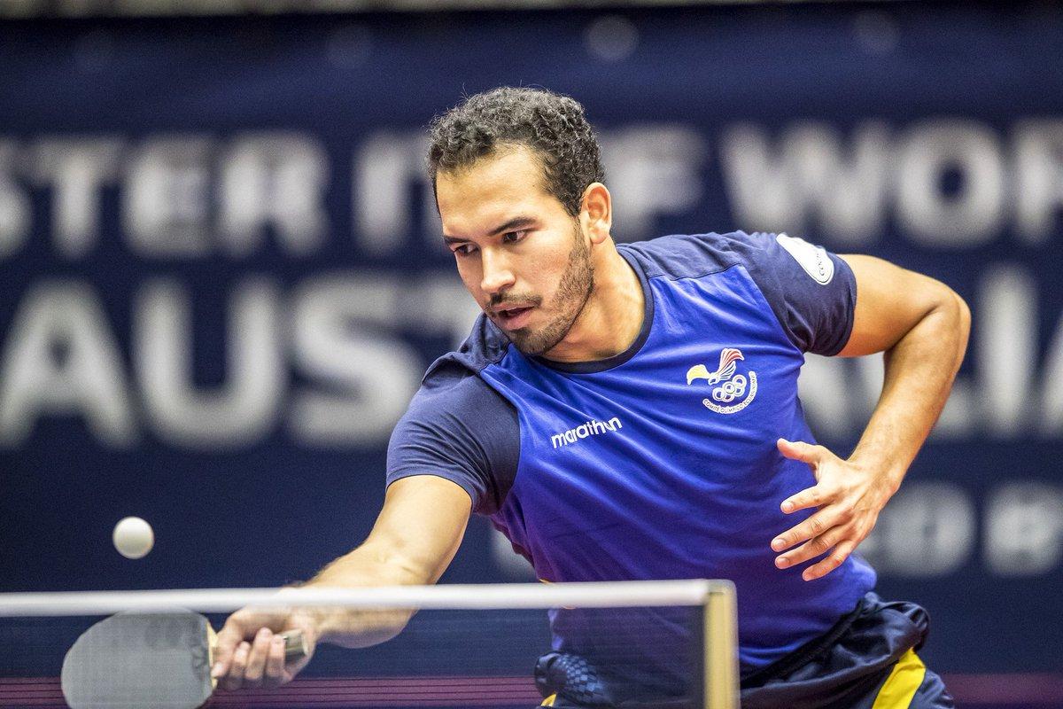Alberto Miño en el Seamaster 2018 ITTF World Tour Platinum Australian Open. Fuente: ITTF