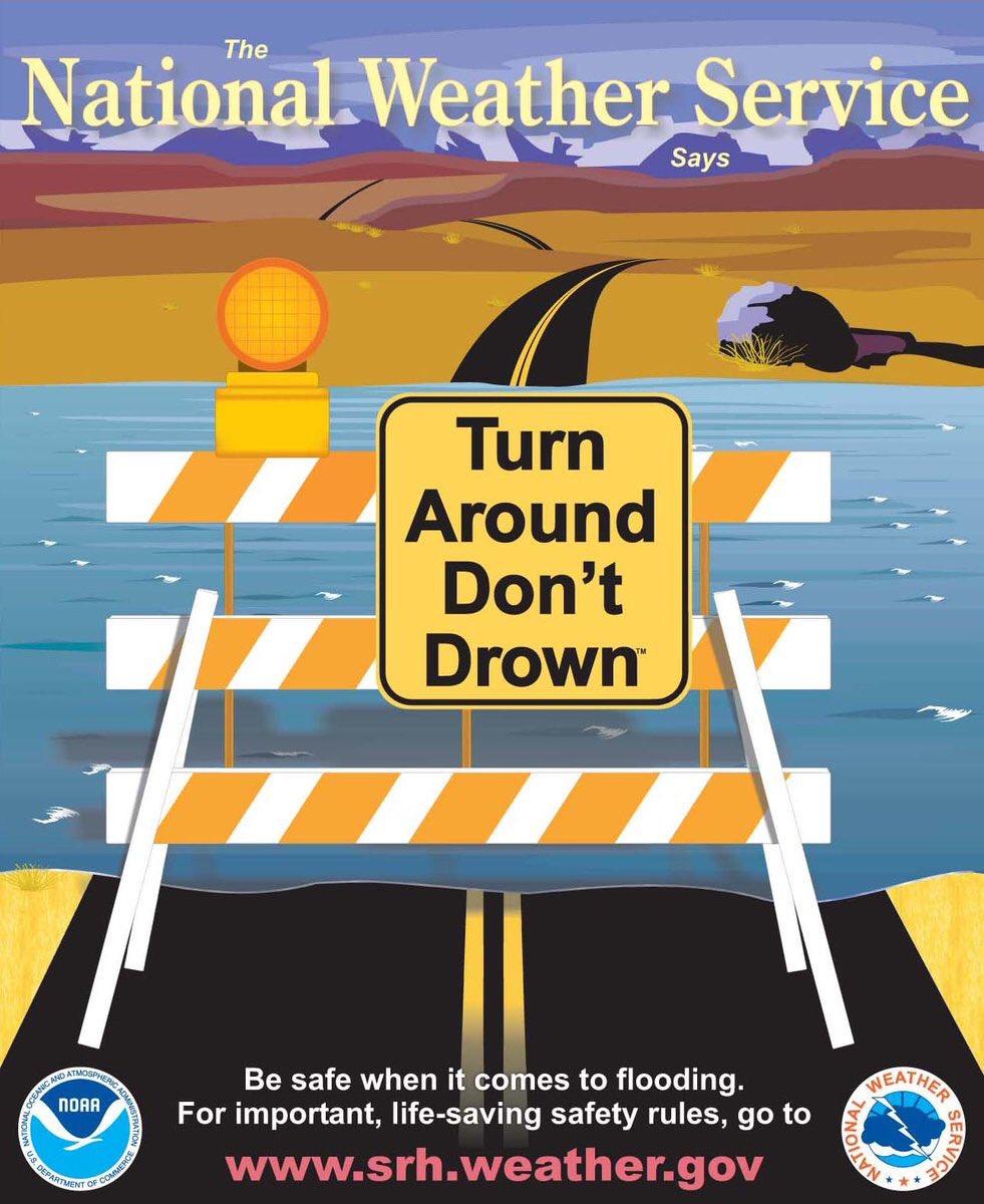 Turn around don't drown graphic