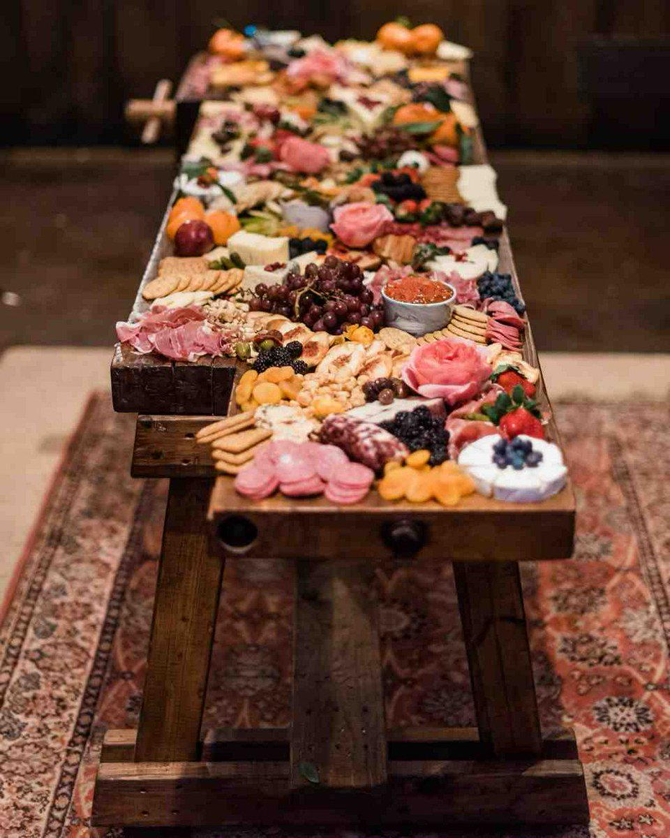 "martha weddings on twitter: ""crowd-pleasing engagement party food"