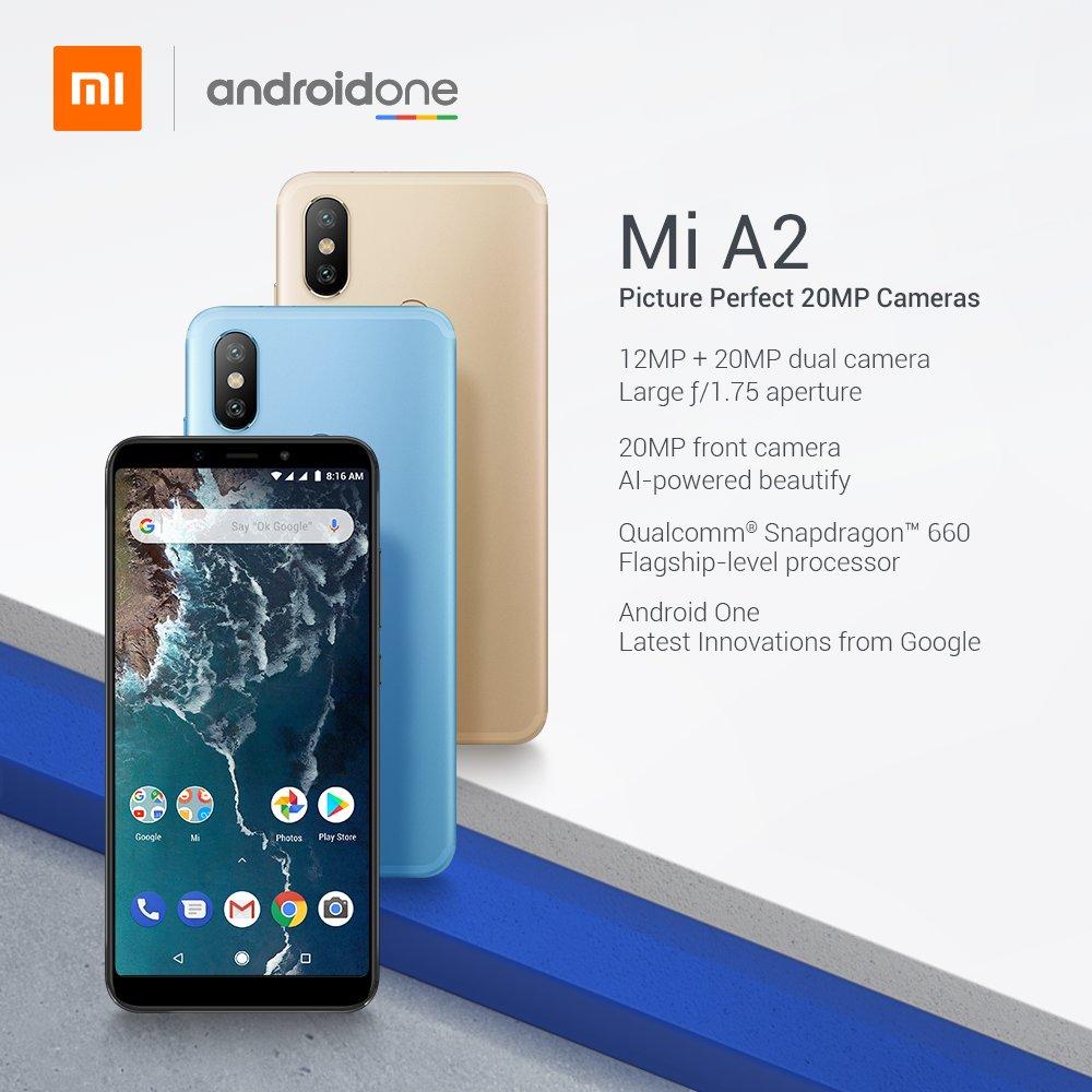 小米 A2 与 小米 A2 Lite 两款 Android One 手机于西班牙亮相 6