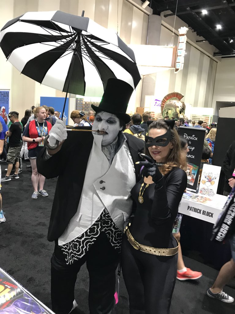 Joe Phillips On Twitter Me As The Penguin At Comic Con Fun Times