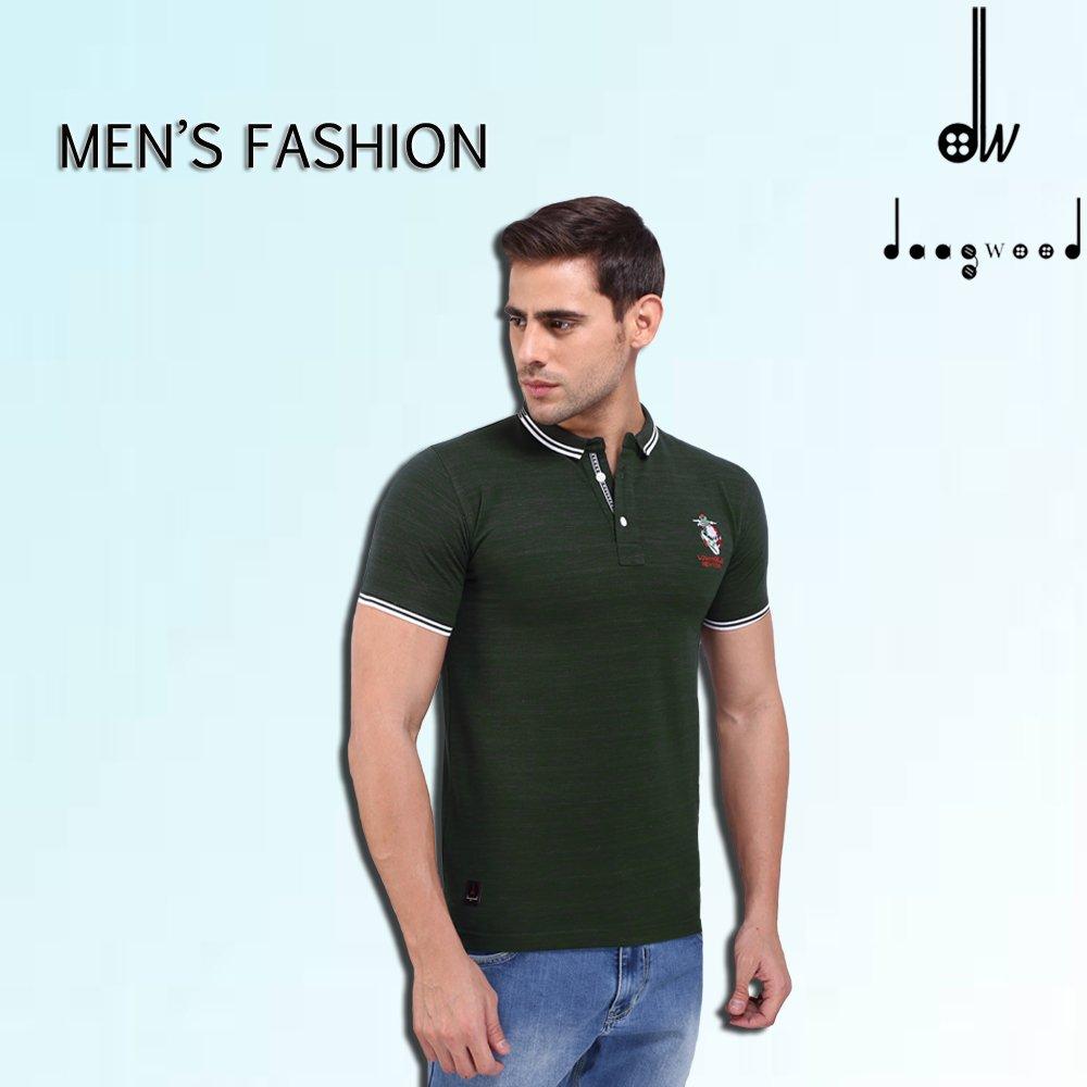 f8ddfc830 ... http://daagwood.com/product/daagwood-solid-mens-polo-neck-green-t-shirt/  … #Daagwood #Tshirt #Tees #menswear #menscollection #newarrivals  #Regularfit ...