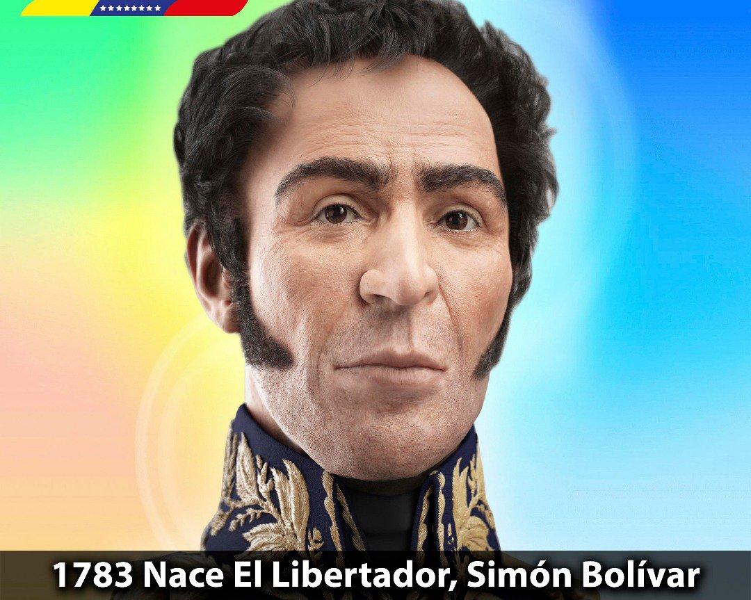 Conmemoramos 235 años del natalicio de nuestro Padre de la Patria, Simón Bolívar; gigante de todos los tiempos, referente universal de unión e integración de los pueblos. Hoy sus hijos e hijas, como dignos bolivarianos, continuamos su camino hacia la independencia definitiva. https://t.co/73LxmFm3ML