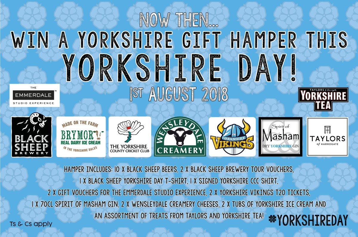 8cbbc359f FOLLOW us and RETWEET this post to be in with a chance of winning a  Yorkshire Bundle of gifts from some ace Yorkshire businesses!pic.twitter .com VdUw7Eazut