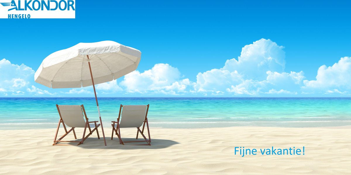 vakantie vanaf 27 juli