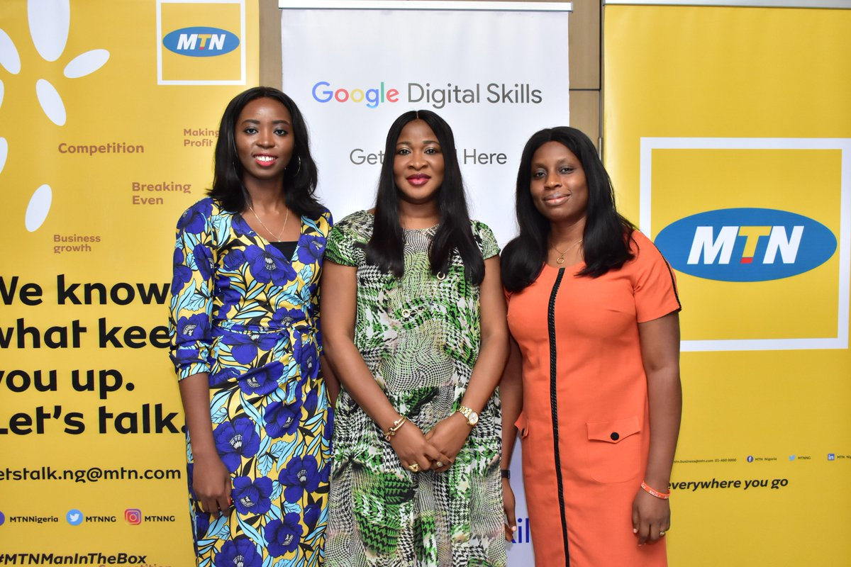 Simbo Olatoregun Google Product Marketing Manager SSA Onyinye Ikenna Emeka General Enterprise Business Unit MTN Nigeria And Bridget