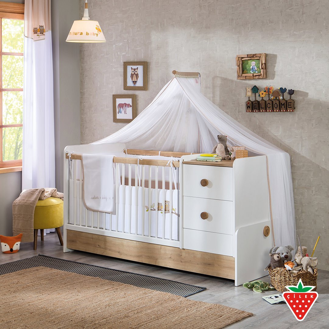 Peaceful and calm baby room with Natura Baby Series. #cilekroom #babyroom   https://t.co/ZBe3uabRXy https://t.co/LDz2dPfqQ4
