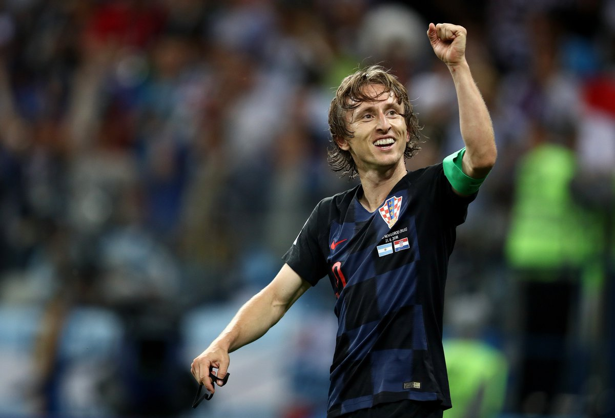 #TheBest FIFA Men's Player 2018 nominee | Luka Modric  Captained @HNS_CFF to @FIFAWorldCup Final where they finished runners-up, #WorldCup adidas Golden Ball winner, as well as @ChampionsLeague & #ClubWC winner with @realmadriden