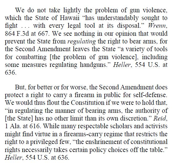 NEW: U.S. appeals court rules that Second Amendment protects the right to openly carry a firearm outside the home in self-defense: https://t.co/pWDIrdymnc