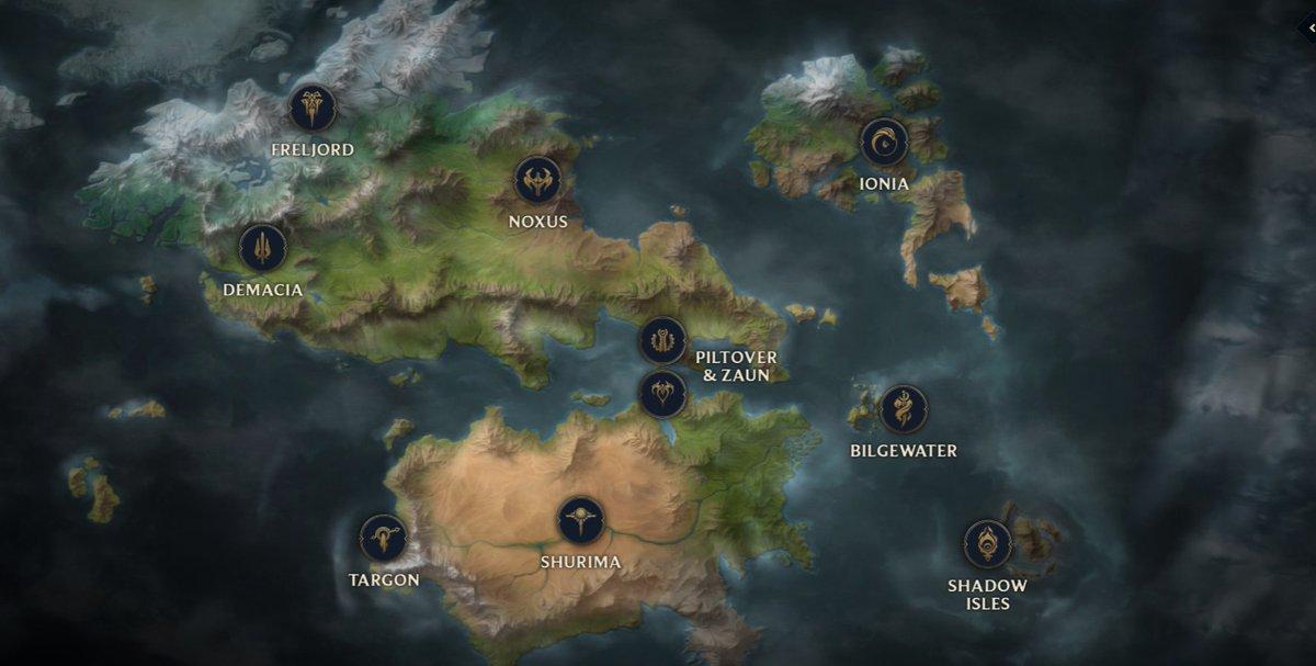 Moobeat On Twitter Runeterra Map Https T Co Zimjfxng0d