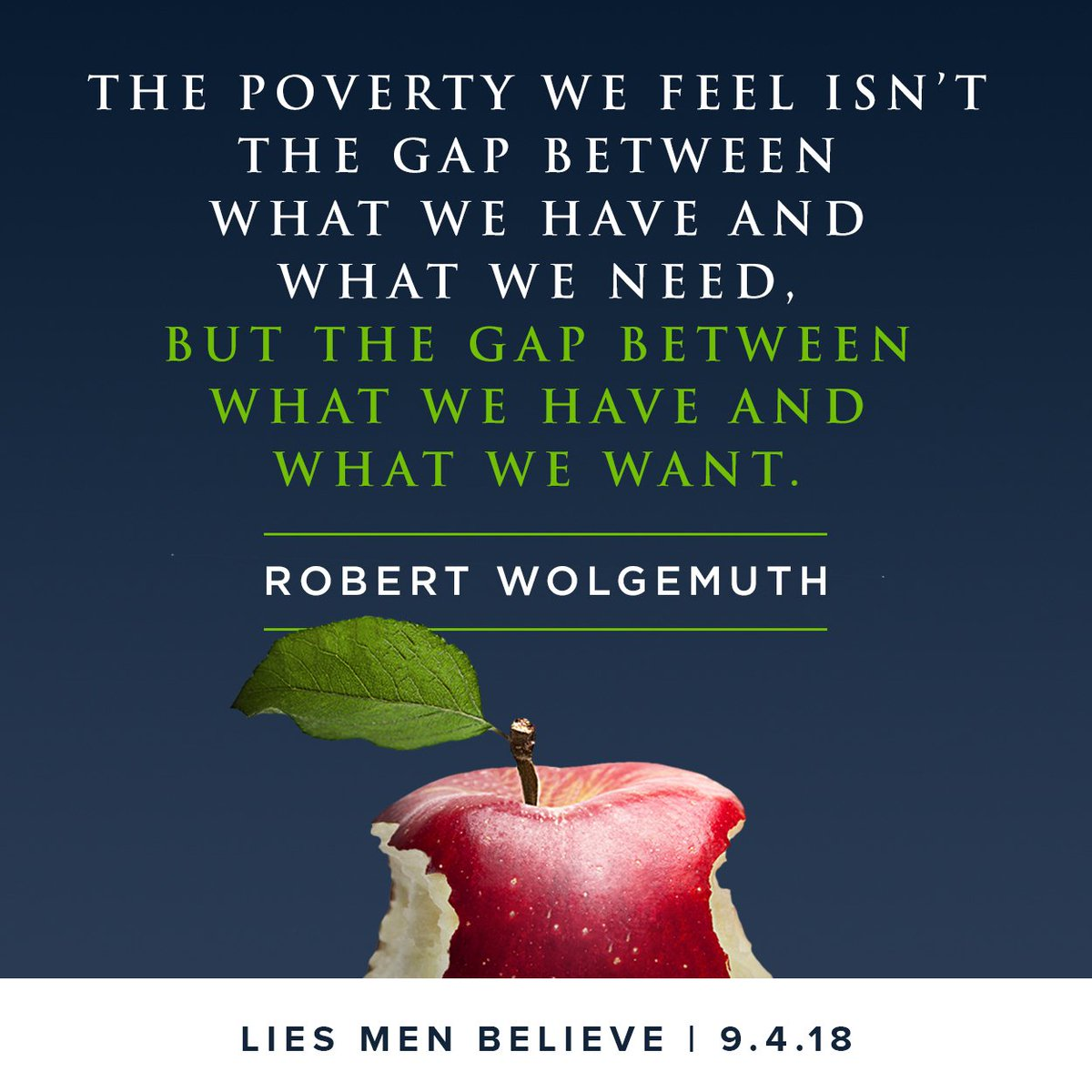 """Moody Publishers on Twitter: """"TOMORROW! @robertwolgemuth's """"Lies Men  Believe"""" will be 50% off for 1-DAY at https://t.co/zxVXu51OFc."""