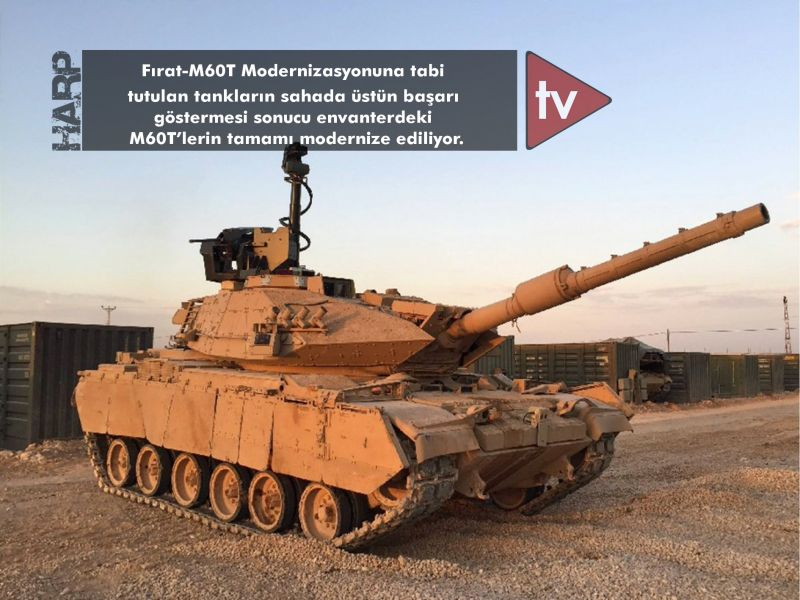 شركة ASELSAN تسلم الجيش التركي اول دفعه من دبابات M60T ضمن برنامج FIRAT-M60T Di4UfJFXsAEq6VR