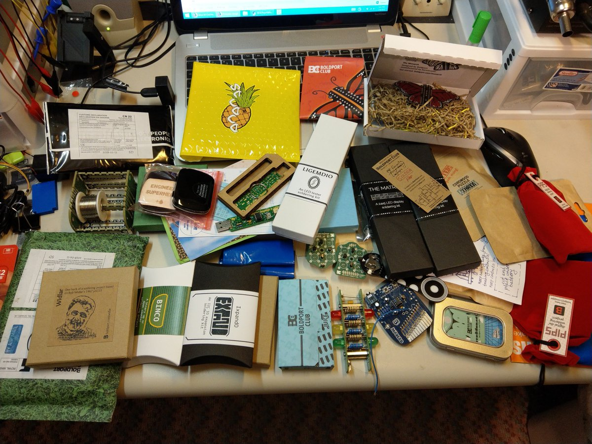 @boldport Taken whilst rearranging my Boldport Club drawer