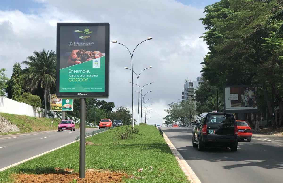 Côte d'Ivoire : Abidjan prend de nouvelles couleurs grâce à JCDECAUX