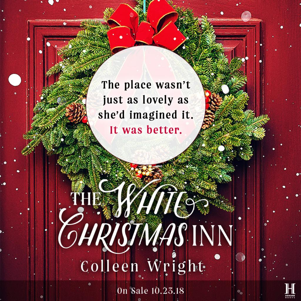 A Christmas Tree Miracle Cast.Atria Books On Twitter White Christmas Inn By Colleen
