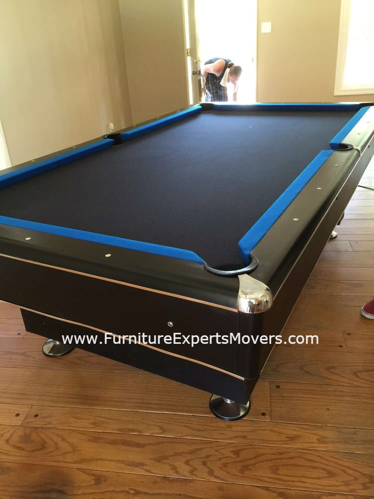 POOL TABLE MOVERS POOLTABLEMOVER Twitter - Pool table disassembly