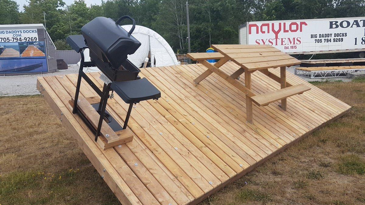 Big Daddys Docks BigDaddysDocks Twitter - Picnic table raft