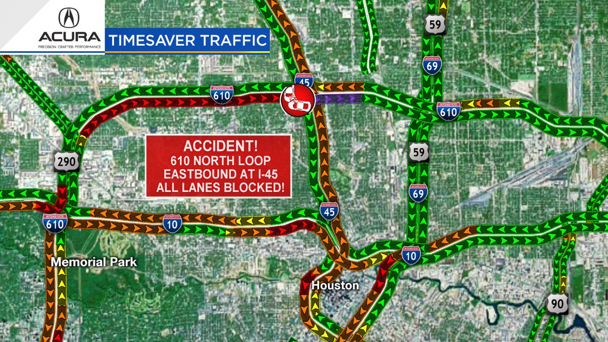 Click 2 Houston Traffic Map.Eric Braate On Twitter Traffic Allert Accident On The N Loop