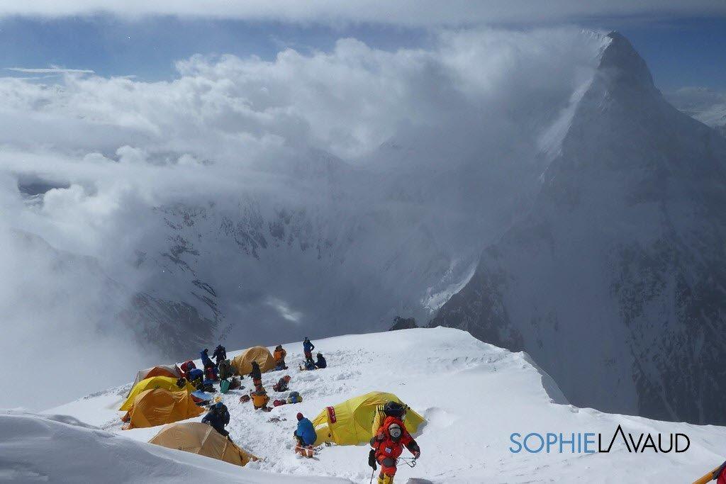 Image for the Tweet beginning: Sommet du K2, 8611 m  #itismychoice