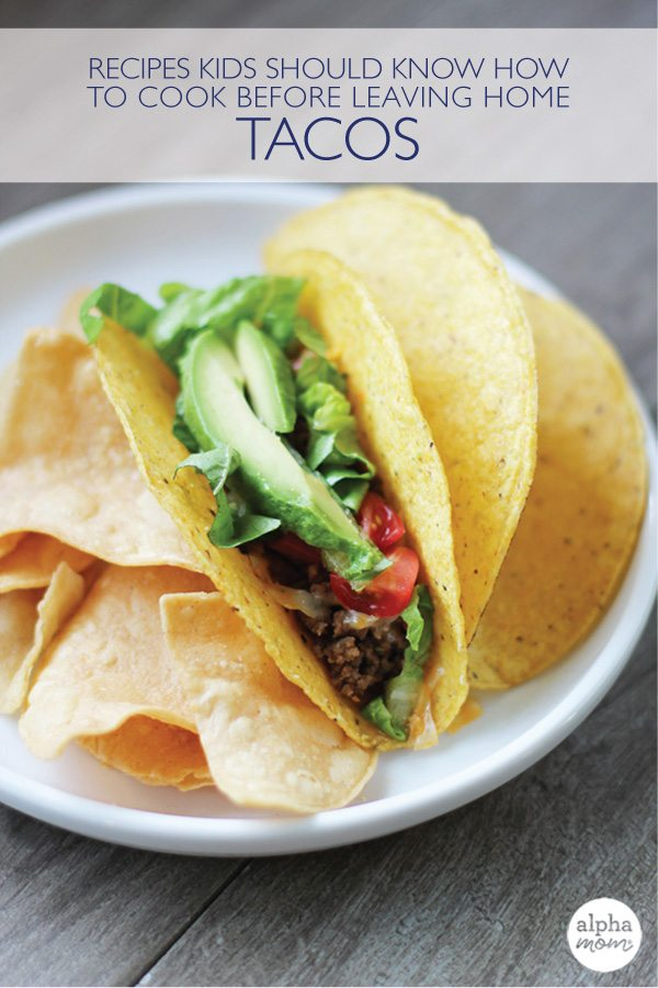 how to make a taco essay Make your own homemade taco seasoning to add to ground beef and refried beans healthier, cheaper, and tastier having it ready instead of winging the proportions by.