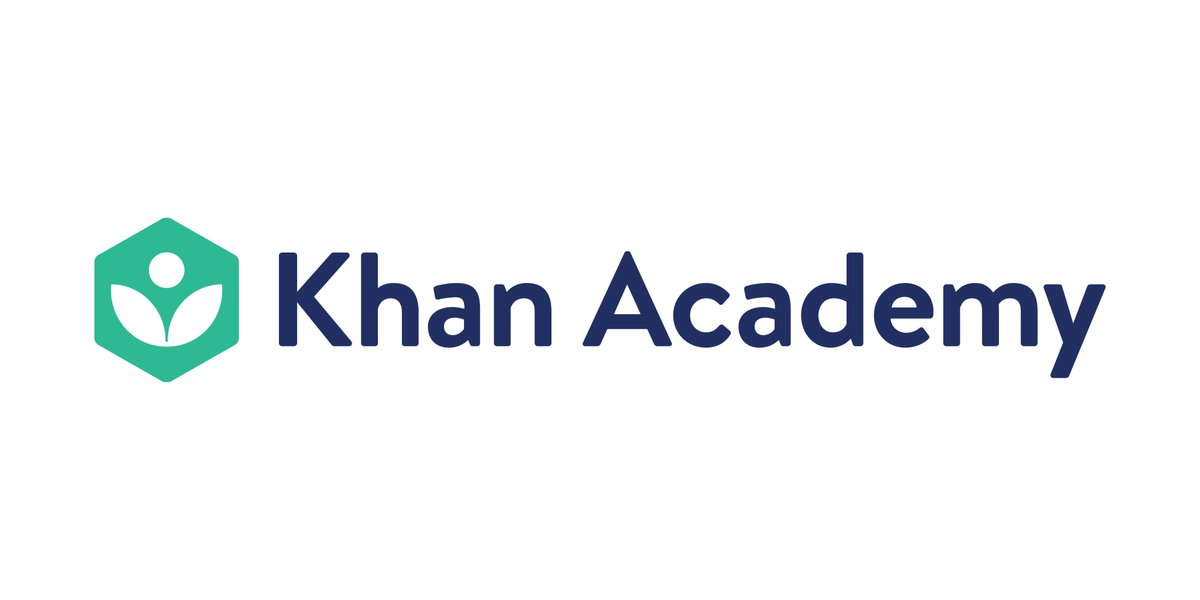 """Khan Academy on Twitter: """"Say hello to our new logo! A fresh look ..."""