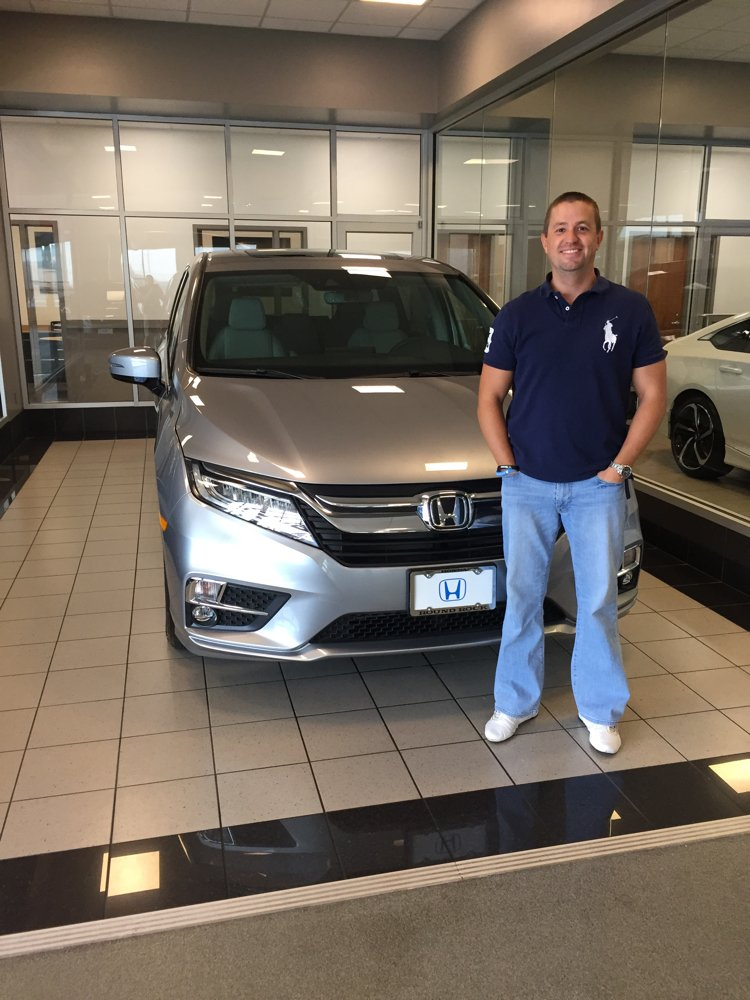 Anthony And The Rest Of The Round Rock Honda Team Hope You Enjoy Your 2019  Honda Odyssey Elite!pic.twitter.com/1PW7ggGFny