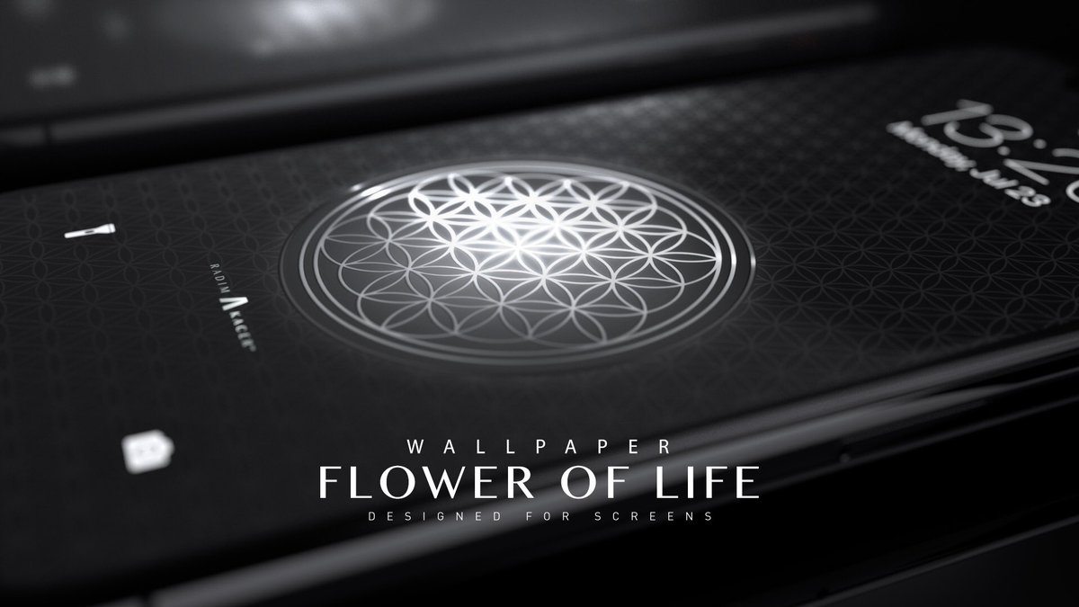 Radim Kacer The Wallpaper On Twitter Flower Of Life