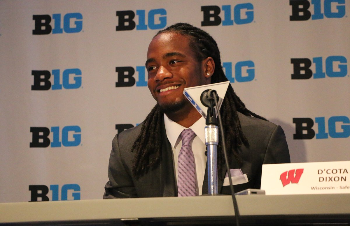 """We've never concerned ourselves with expectations or what others think. We've never stepped on the field to prove anyone wrong.  ""We play for one another""  #B1GMediaDay #OnWisconsin<br>http://pic.twitter.com/iFv9jhORHv"