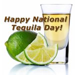 Image for the Tweet beginning: It's National Tequila Day! Come