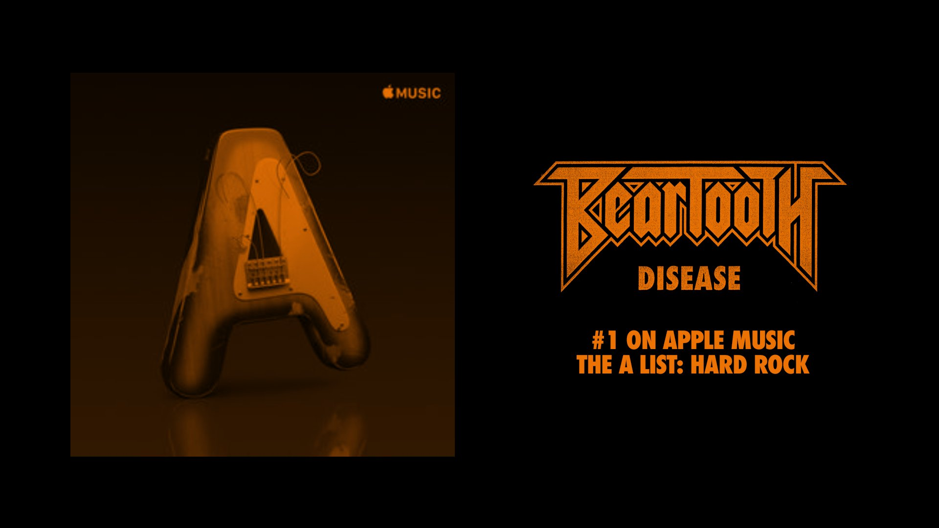 Head over to @Applemusic to stream 'Disease' on The A-List: Hard Rock playlist!  ��: https://t.co/BFKMVymBTS https://t.co/sUL4gB7Ji6