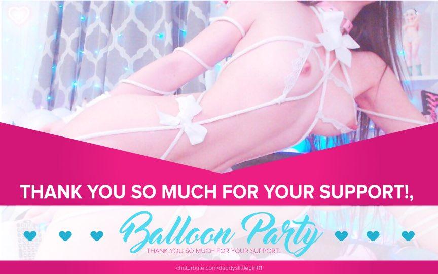 Daddyslittlegirl01 Having Balloon Party and much more on Stripcamfun