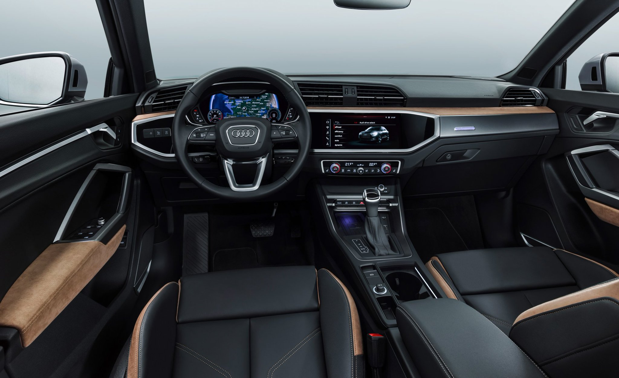 """Car and Driver on Twitter """"The 2019 Audi Q3 is all new and packed"""