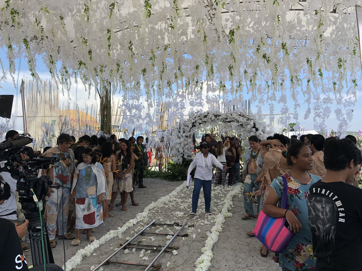 look preps ongoing for quotbaganiquot wedding scene of lizquen