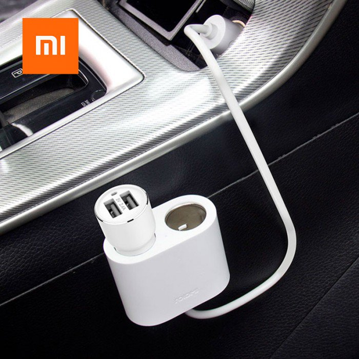 Chargers & Cables Source · Grab Your XIAOMI ROIDMI 2S SPLITTER 1 TO 2 CHARGING PORT