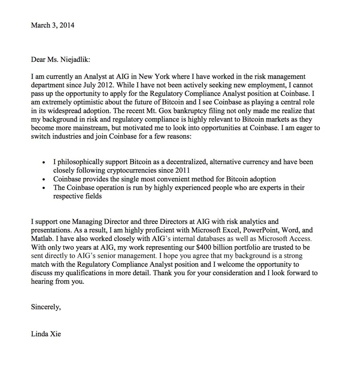 ms or miss cover letters
