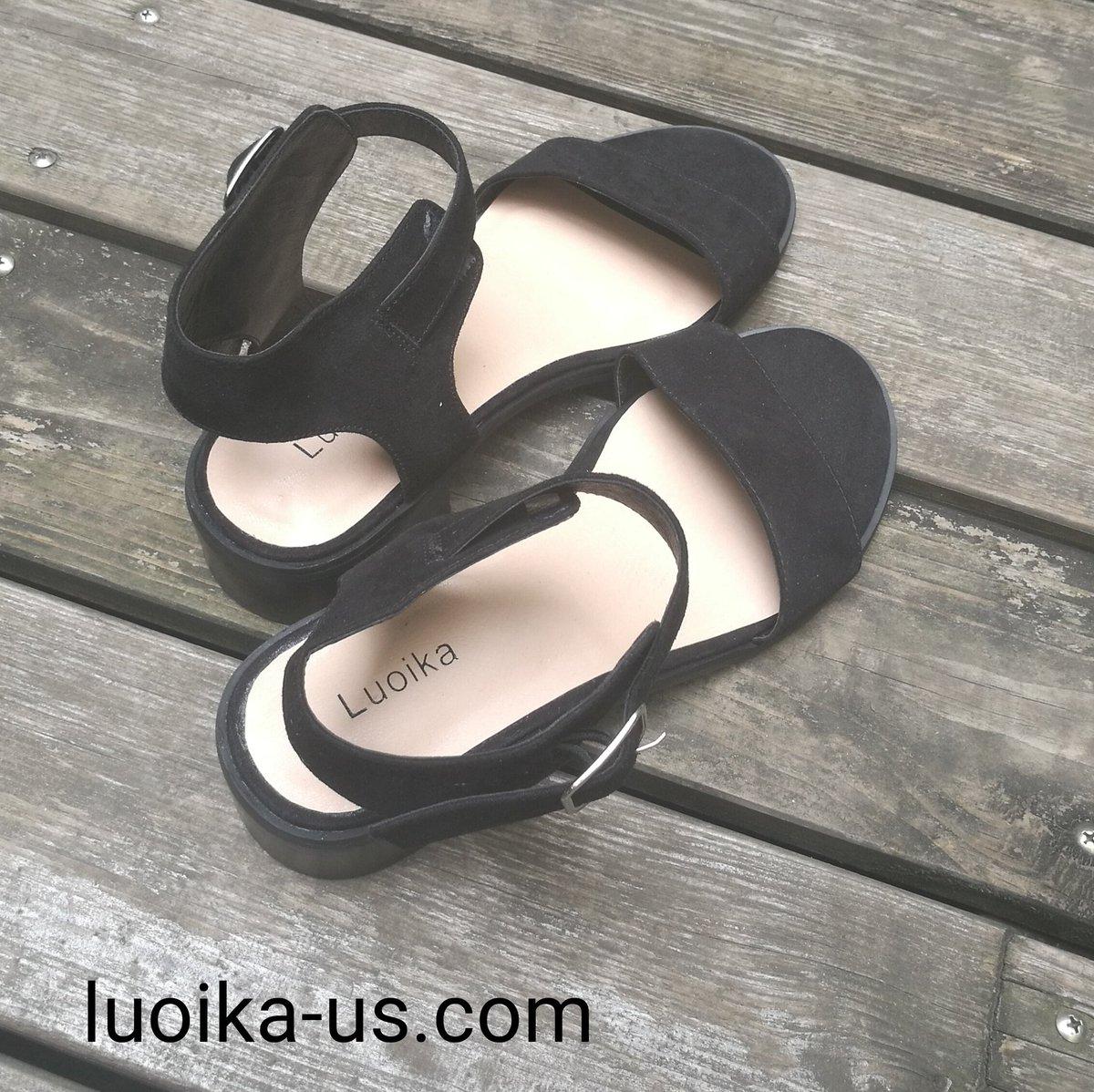 778aa63a1c1f ... Women s Wide Width Heeled Sandals-Classic Low Block Heel Open Toe Ankle  Strap Suede Summer Shoes  plussizeshoes  plussizefashion  widewidthshoes ...