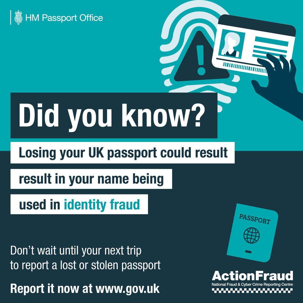 If they steal a passport and issue a loan or quick loan of money, who will pay it