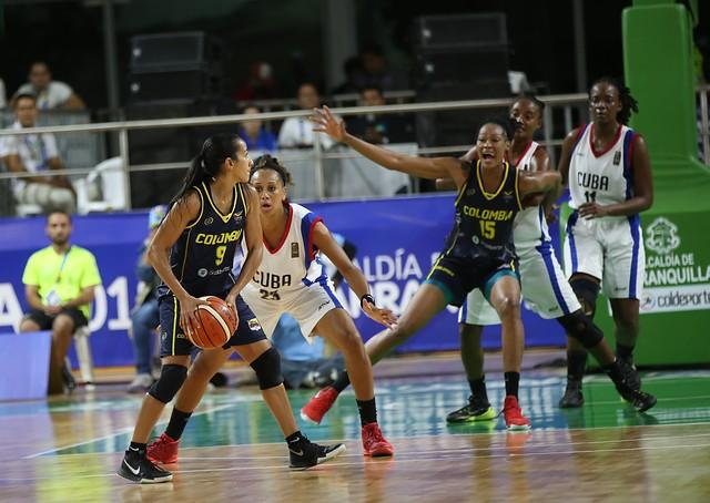 Colombia ganó la medalla de oro en baloncesto