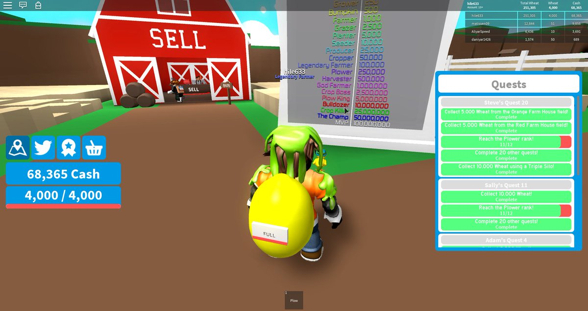Roblox Farming Simulator Codes 2019 - Ex-7 Roblox Hack