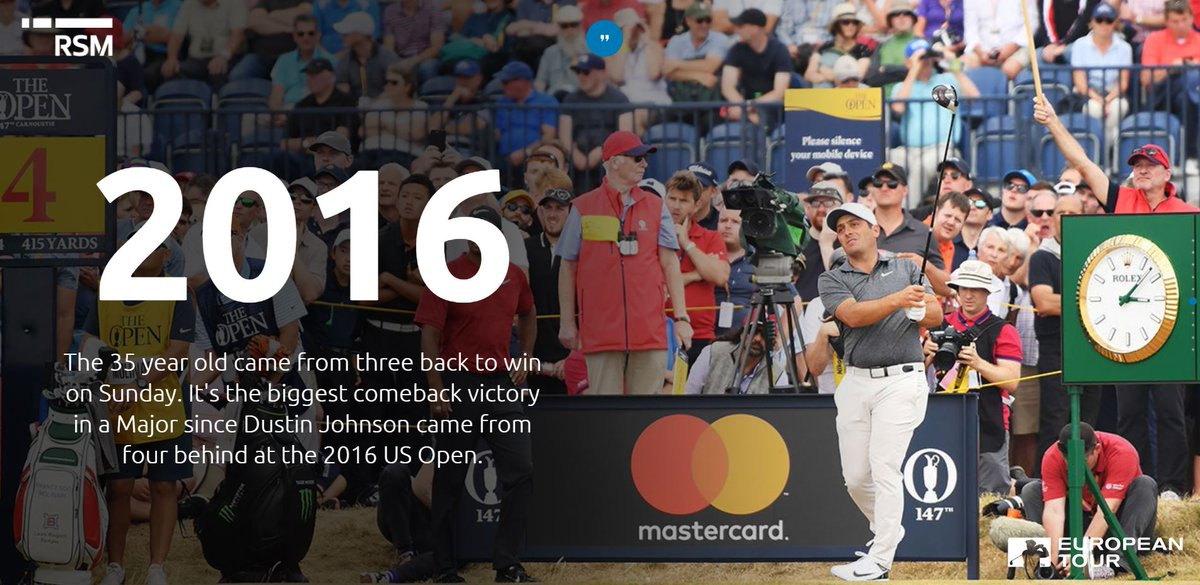 An interactive look at how @F_Molinari took home #TheOpen  https://t.co/8y4O98wJ9J