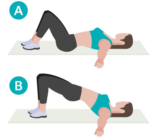 """X-PERT Health on Twitter: """"Glute bridge! Exercise number four in our  #workoutwednesday simplest, least expensive, and most effective exercises  to build a strong body series! A great exercise to target the glutes ("""