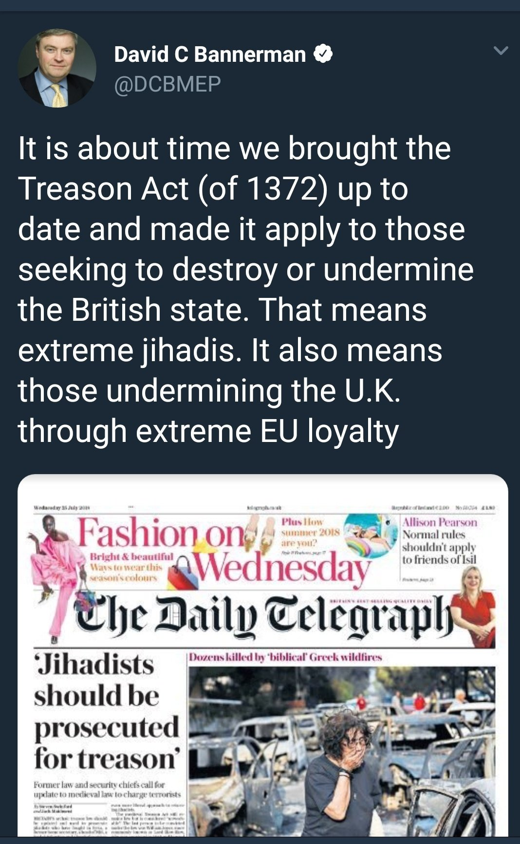 Treason: how to behave 79