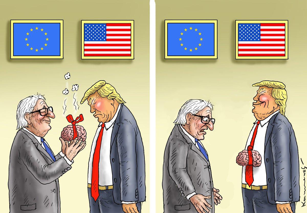 США наклонили Евросоюз