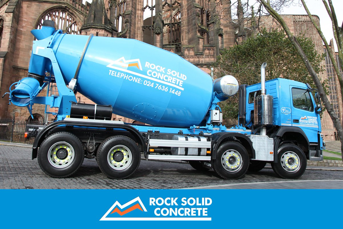 Rock Solid Concrete >> Rock Solid Concrete On Twitter Have You Spotted Our Vehicles In