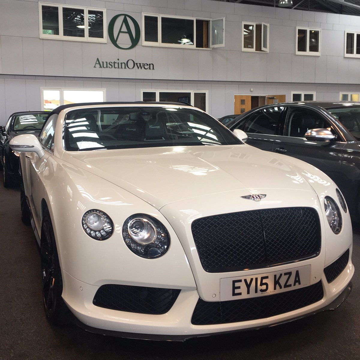 Reduction 99 990 Limited Edition One Owner 2017 Bentley Continental Gtc V8 S Concours Series Which Has Travelled Only 1 650 Miles From New
