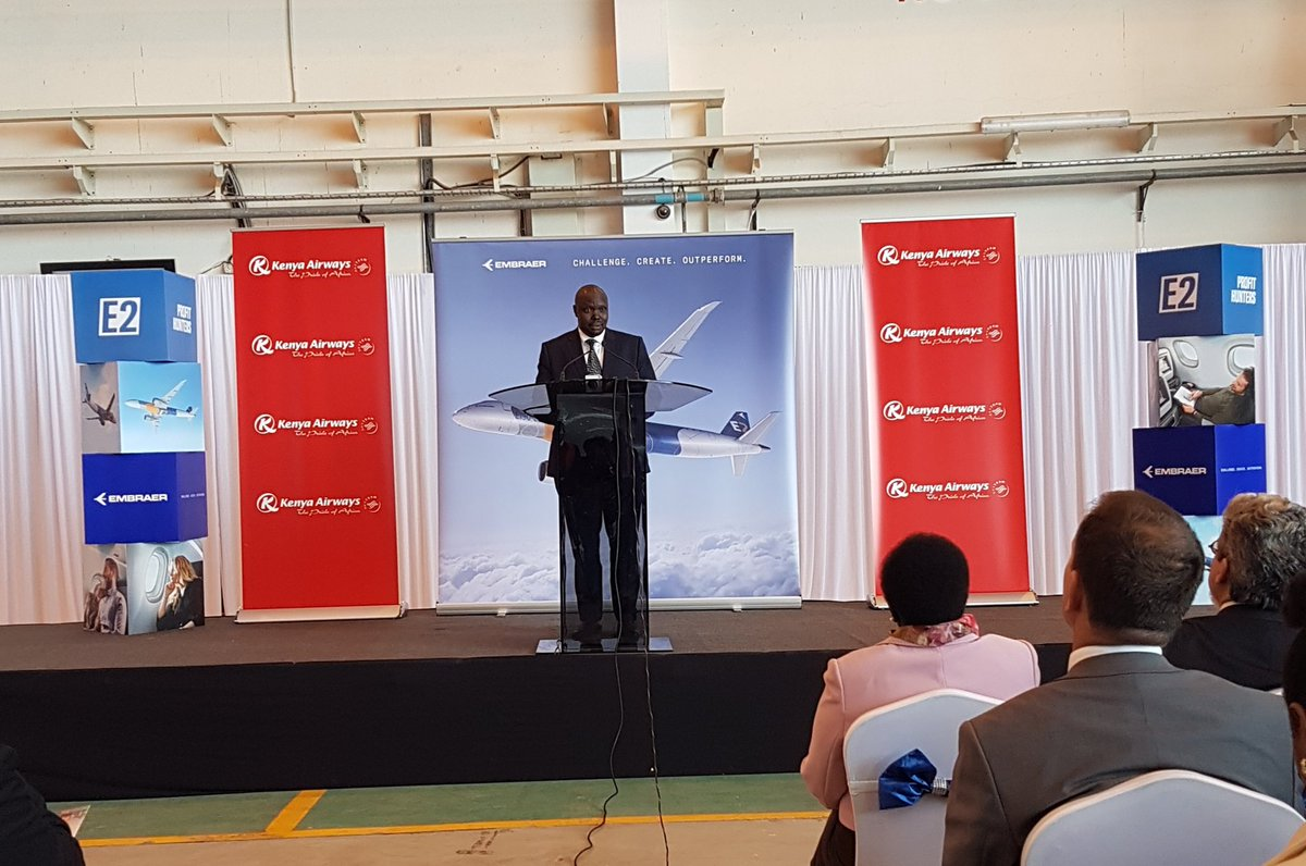 Resultado de imagen para Embraer E190-E2 Kenya Airways