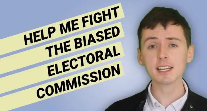 Help Darren Grimes Fight and Expose Biased Electoral Commission: https://order-order.com/2018/07/25/help-darren-grimes-fight-biased-electoral-commission/…
