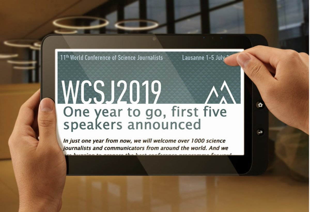 Have you already subscribed to #WCSJ2019 newsletter? If you do, you will get a 50% reduction to the UK Conference of #Science #Journalists (16 October 2018). You have time until end of July to get this special #discount. @absw https://www.wcsj2019.eu/single-post/2018/07/24/WCSJ2019news-7---24-July-2018 …