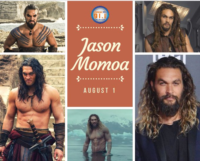 Happy birthday to actor, writer, director, producer and model, Jason Momoa